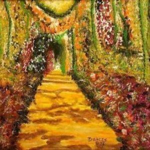 """Magical Garden ~ Original Acrylic 16"""" x 20"""""""